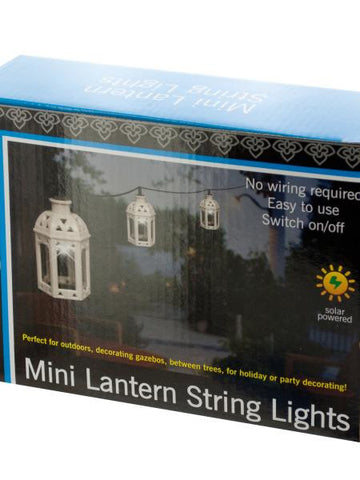 Lanterns Solar Powered LED String Lights Set (Available in a pack of 1)