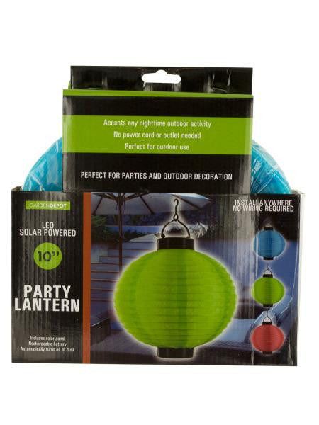 Solar Powered LED Party Lantern (Available in a pack of 4)
