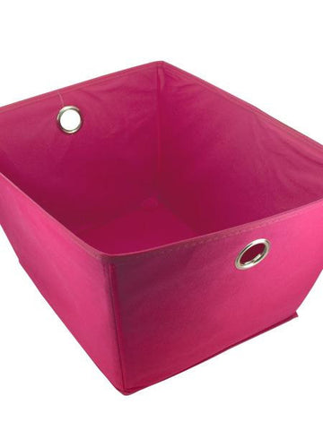 Fabric Covered Home Storage Box (Available in a pack of 4)