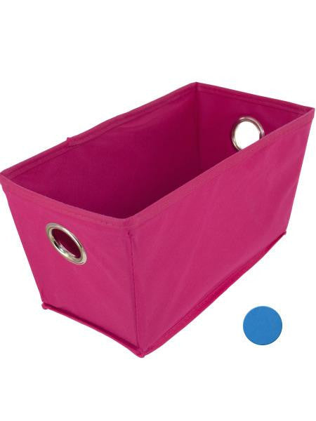 Cloth Covered Home Storage Basket (Available in a pack of 6)