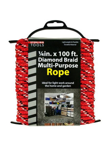 Diamond Braid Multi-Purpose Rope on Holder (Available in a pack of 4)