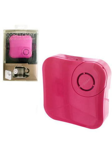 X-Sticker Pink Vibration Speaker (Available in a pack of 4)