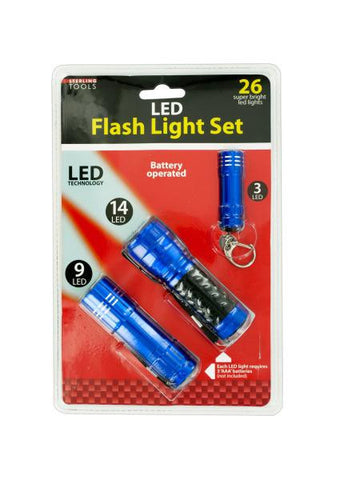 LED Flashlight Set (Available in a pack of 1)