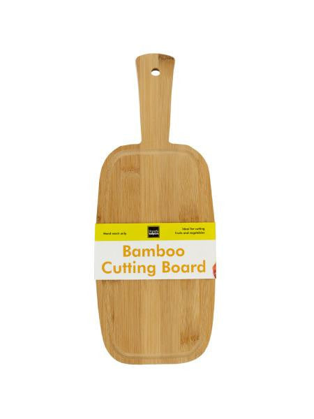 Small Paddle Style Bamboo Cutting Board (Available in a pack of 4)