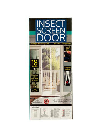 Insect Screen Door with Magnetic Closure (Available in a pack of 4)