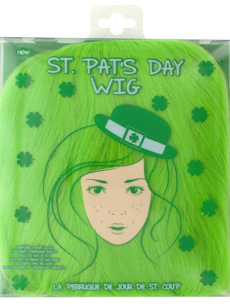 St. Patrick's Day Adult Wig (Available in a pack of 9)
