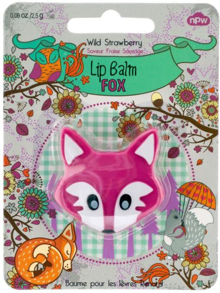 Woodland Animals Lip Balm (Available in a pack of 24)