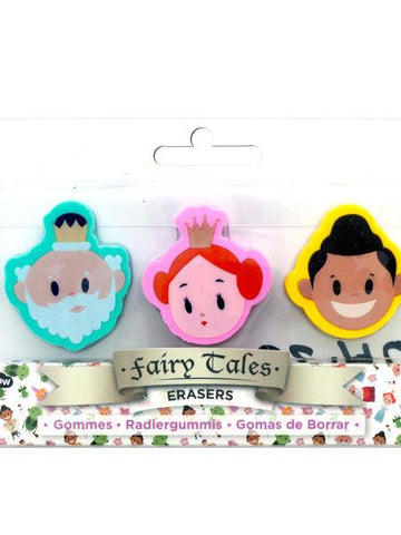 Fairy Tales Eraser Set (Available in a pack of 24)