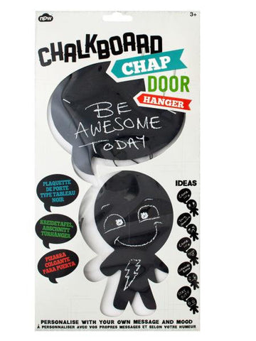 Chalkboard Chap Door Hanger (Available in a pack of 12)