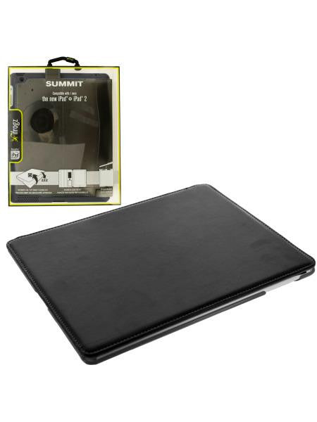 Black ifrogz iPad Snap-In Folio Case (Available in a pack of 4)