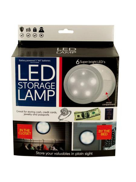 LED Secret Storage Lamp (Available in a pack of 1)