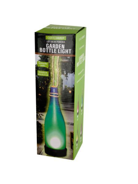 LED Solar Powered Garden Bottle Light (Available in a pack of 4)