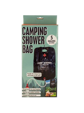 Camping Shower Bag with Flexible Hose (Available in a pack of 1)