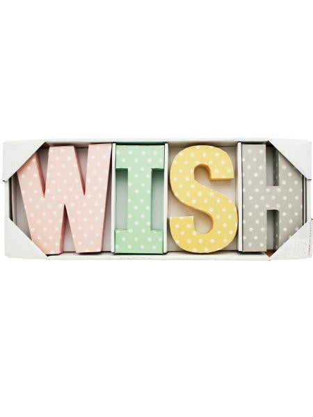 Wish Letters Wall Decor (Available in a pack of 2)
