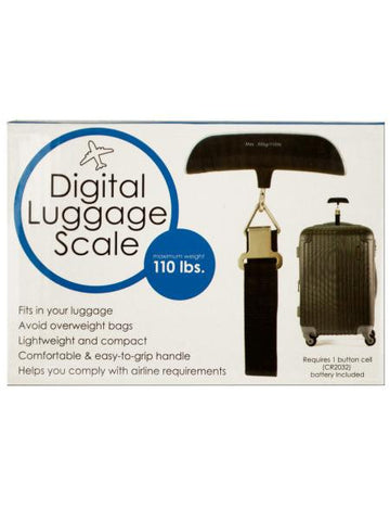 Digital Luggage Scale with Easy Grip Handle (Available in a pack of 1)