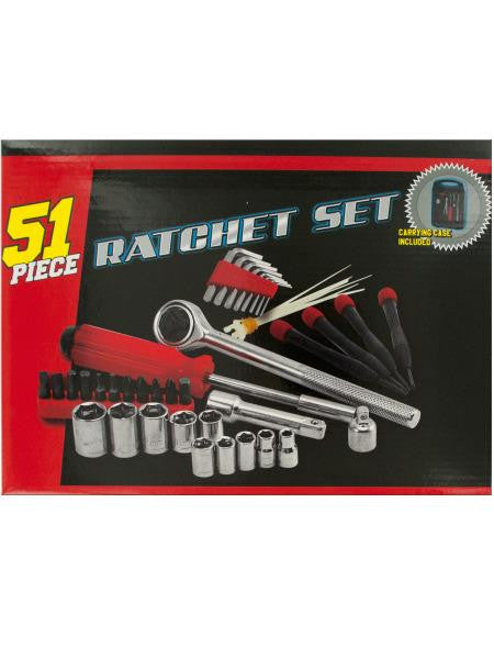 Medium Ratchet Set with Carrying Case (Available in a pack of 1)