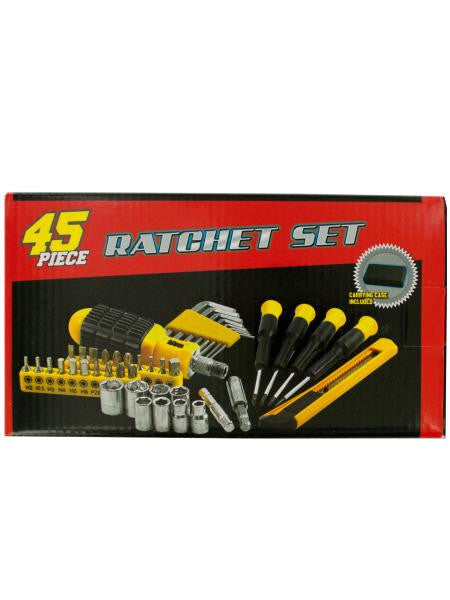 Small Ratchet Set with Carrying Case (Available in a pack of 1)