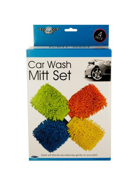 Super Soft Car Wash Mitt Set (Available in a pack of 1)