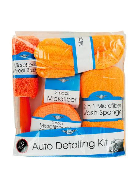 Microfiber Car Wash & Detailing Kit (Available in a pack of 1)