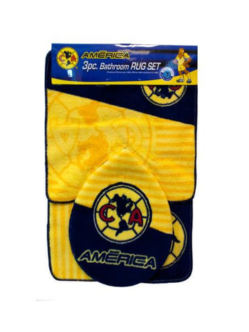 Officially Licensed Club America Bathroom Rug Set (Available in a pack of 1)