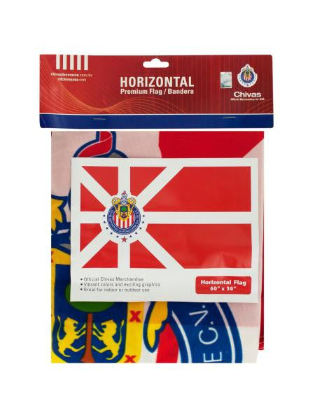 Large Officially Licensed Chivas Horizontal Flag (Available in a pack of 18)