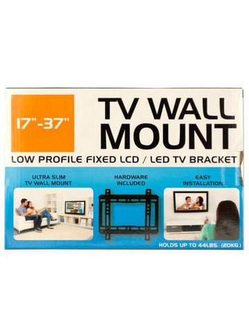 Small Low Profile TV Wall Mount (Available in a pack of 1)