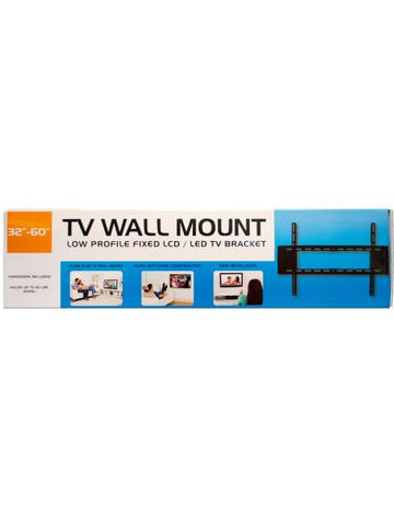 Large Low Profile TV Wall Mount (Available in a pack of 1)