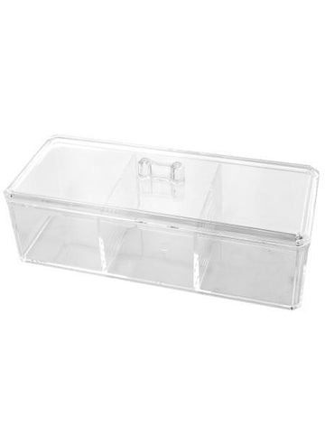 Lidded Multi Purpose Cosmetic Organizer (Available in a pack of 2)