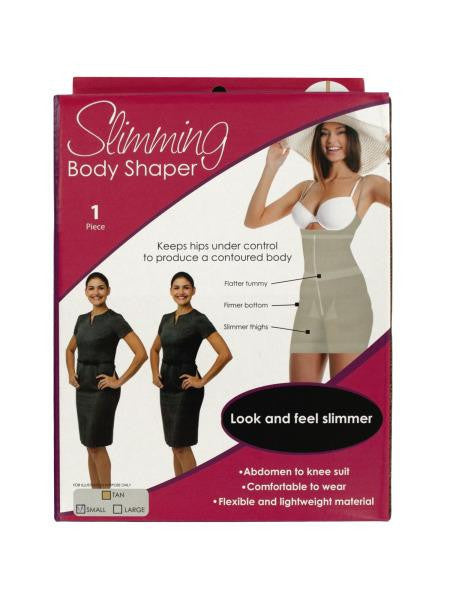Slimming Body Shaper with Shoulder Straps (Available in a pack of 1)