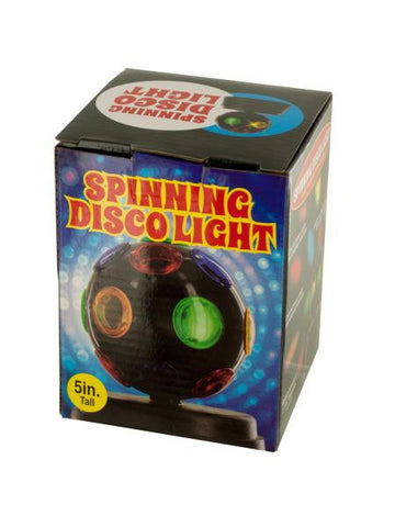 Mini Spinning Disco Party Light (Available in a pack of 2)