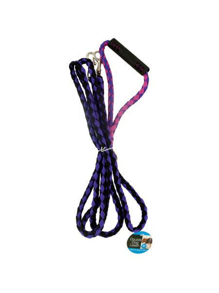 Double Dog Leash with Comfortable Handle (Available in a pack of 1)