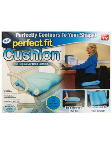 Perfect Fit Air Bead Cushion with Fleece Cover (Available in a pack of 1)