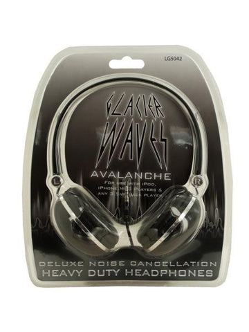 Cushioned Noise Cancellation Headphones (Available in a pack of 6)