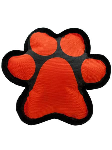 Paw Shape Squeaky Dog Toy (Available in a pack of 12)