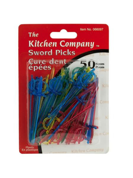 Plastic Sword Appetizer Picks (Available in a pack of 24)