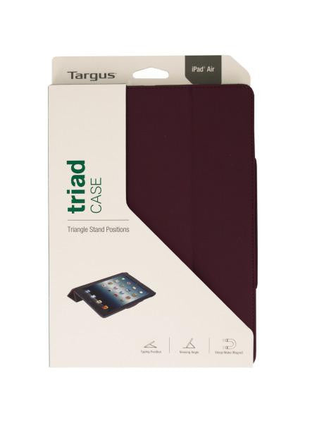 Targus iPad Air Black Cherry Triad Viewing Stand Case (Available in a pack of 5)