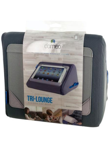 Domeo iPad Tri-Lounge 3-Sided Lap Desk (Available in a pack of 1)