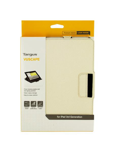 Targus Vuscape Bone White Tablet Viewing Case (Available in a pack of 2)