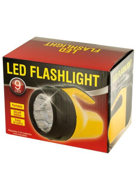 Portable LED Flashlight (Available in a pack of 1)