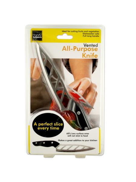 Vented All-Purpose Kitchen Knife (Available in a pack of 4)