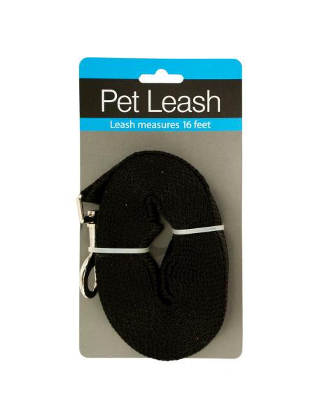Extra Long Nylon Dog Leash (Available in a pack of 4)