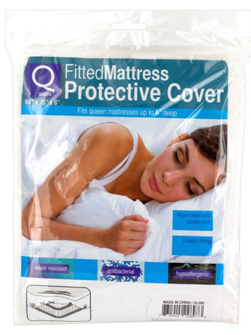 Queen Size Fitted Protective Mattress Cover (Available in a pack of 12)