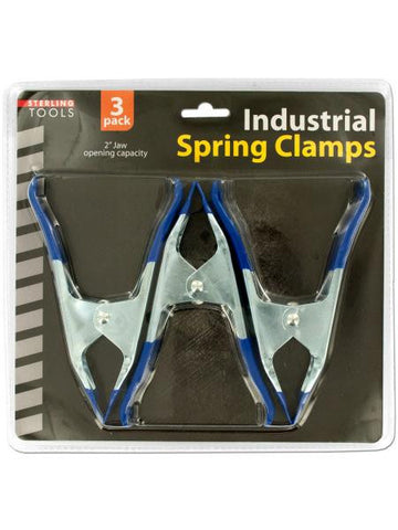 Metal Spring Clamps Set (Available in a pack of 4)