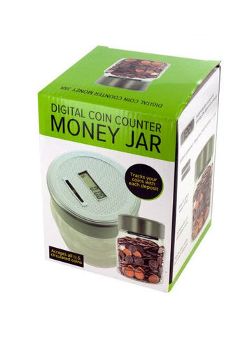 Digital Coin Counter Money Jar (Available in a pack of 1)