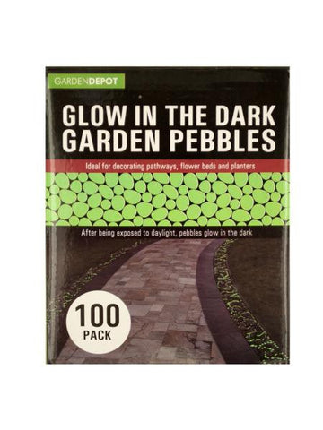 Glow in the Dark Garden Pebbles (Available in a pack of 3)