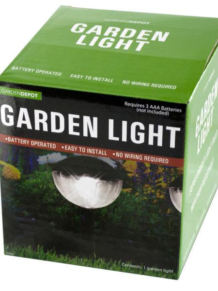 Weather Resistant Garden Dome Light (Available in a pack of 4)