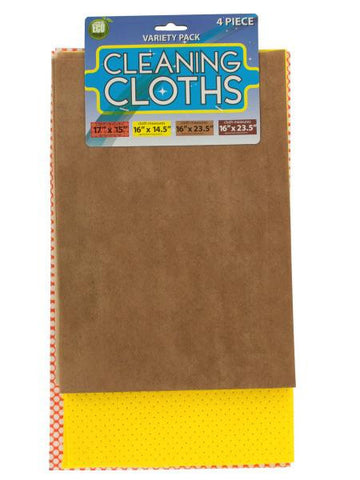 Multi Purpose Cleaning Cloth Set (Available in a pack of 4)