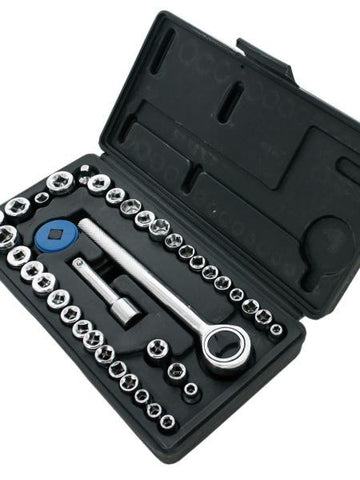 Socket Set in Carrying Case (Available in a pack of 1)
