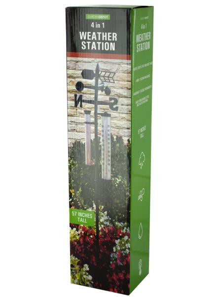 4 in 1 Weather Station (Available in a pack of 1)