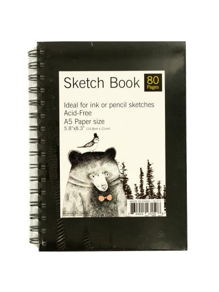 Wire Bound Sketch Book (Available in a pack of 12)